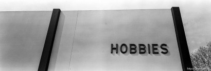 Wold's Hobbies building wall.
