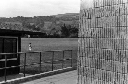Kid playing baseball at Pine Valley Intermediate
