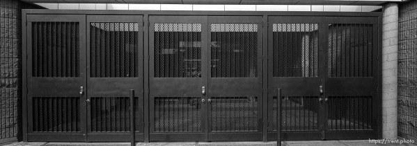 gated doors at Pine Valley Intermediate