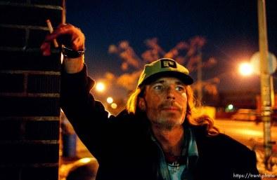 Robert William Smith, homeless in Salt Lake City.