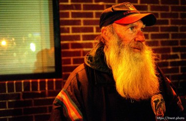 Wayne Broomhead, homeless in Salt Lake City.