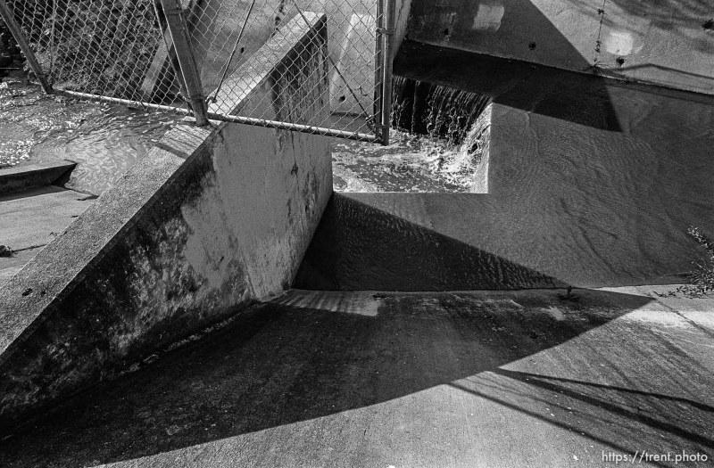 Concrete waterways in San Ramon Creek.