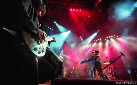 Aerosmith at the Delta Center. Steven Tyler