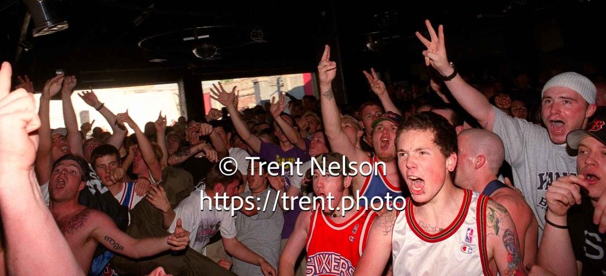 Crowd at Madball at Brick's Club.