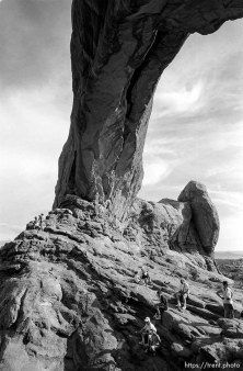 North Window at Arches National Park.