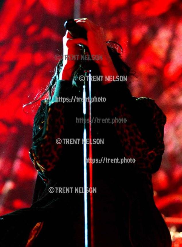 Korn at the E Center.