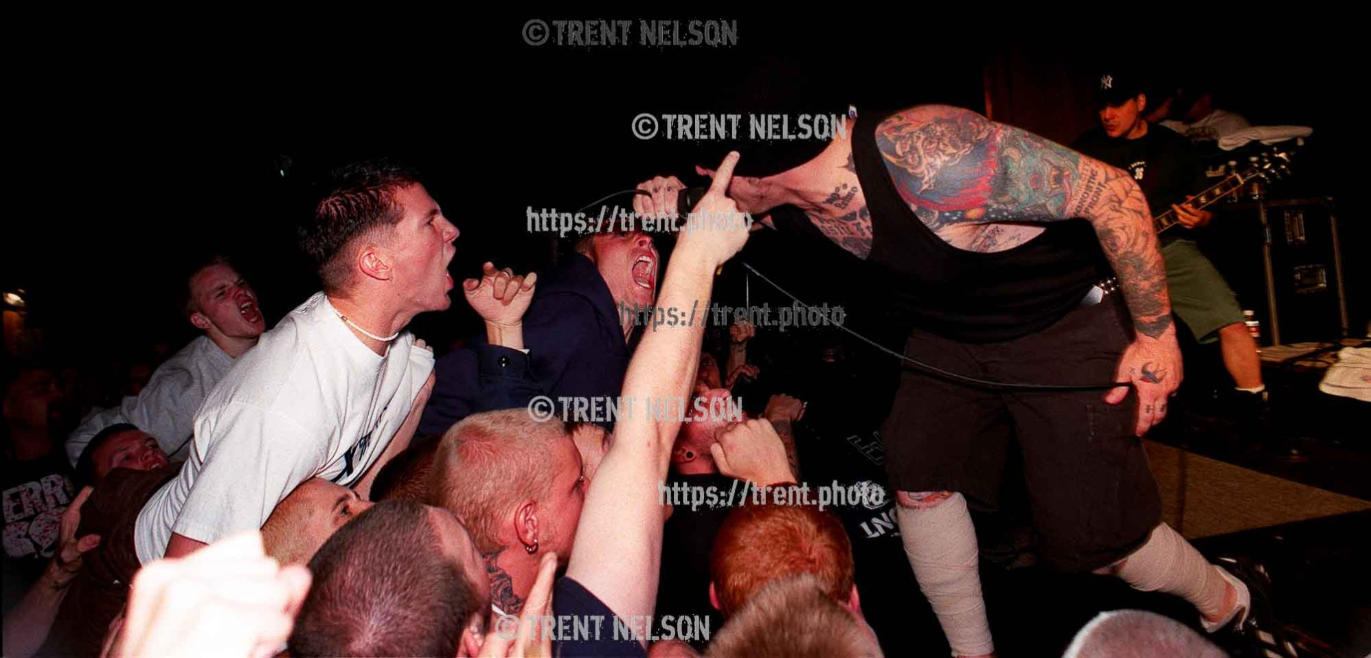 Agnostic Front at the Tower Theater.