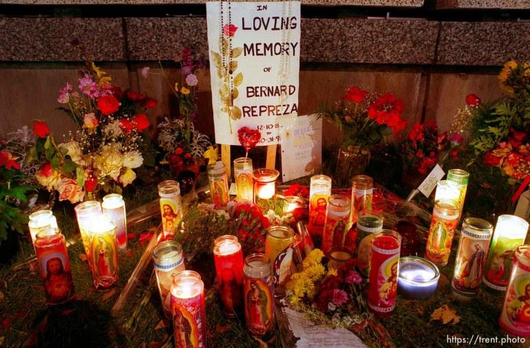 Memorial for Bernard Repreza
