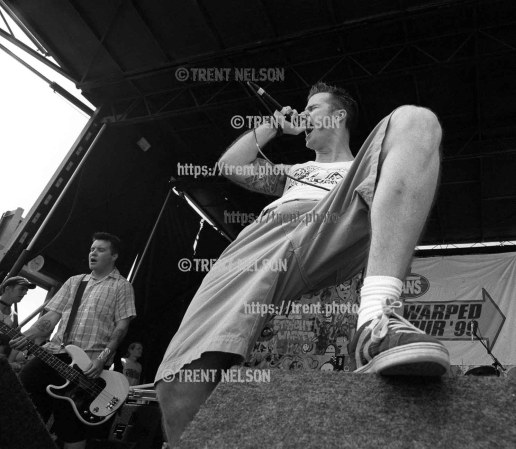 Dropkick Murphys at the Vans Warped Tour.