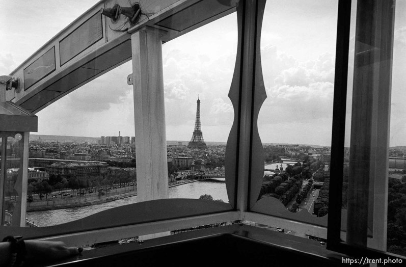 Eiffel Tower from the Centre Pompideau