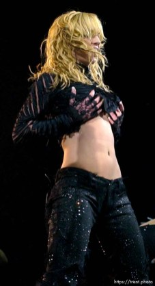 Britney Spears performs at the Delta Center. 11/13/2001, 9:19:45 PM