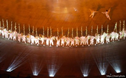 The Paralympic Opening Ceremony, Rice-Eccles Stadium, Thursday evening.; 03.07.2002, 7:12:28 PM