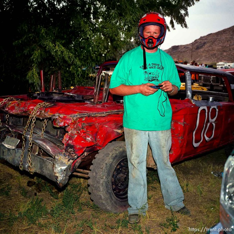 Trevor Medler. Demolition Derby. Beaver County Fair.