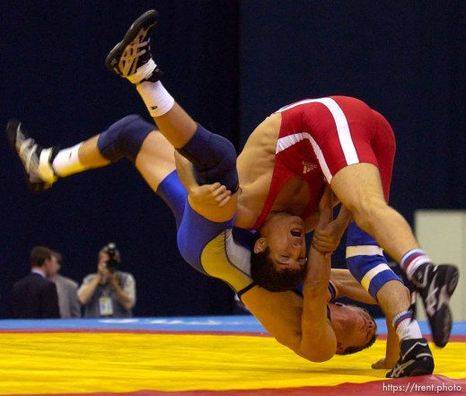 freestyle wrestling, Moscow-Utah Youth Games, Olympijski Sports Complex