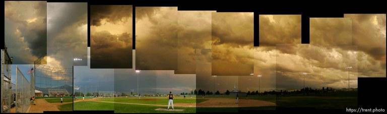 Sunset over Legion Baseball