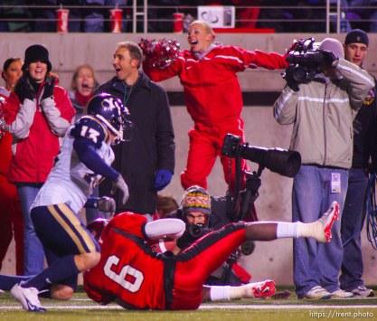 Tribune photographer Rick Egan. Utah vs. BYU college football. 11.20.2004