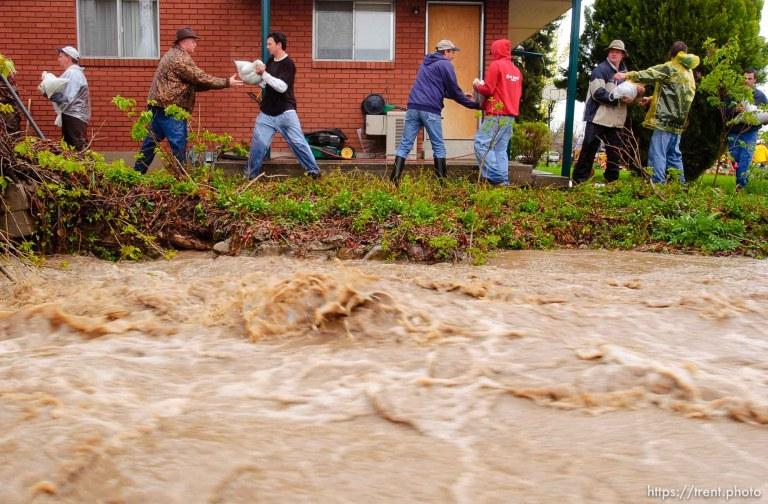 Flood in Brigham City