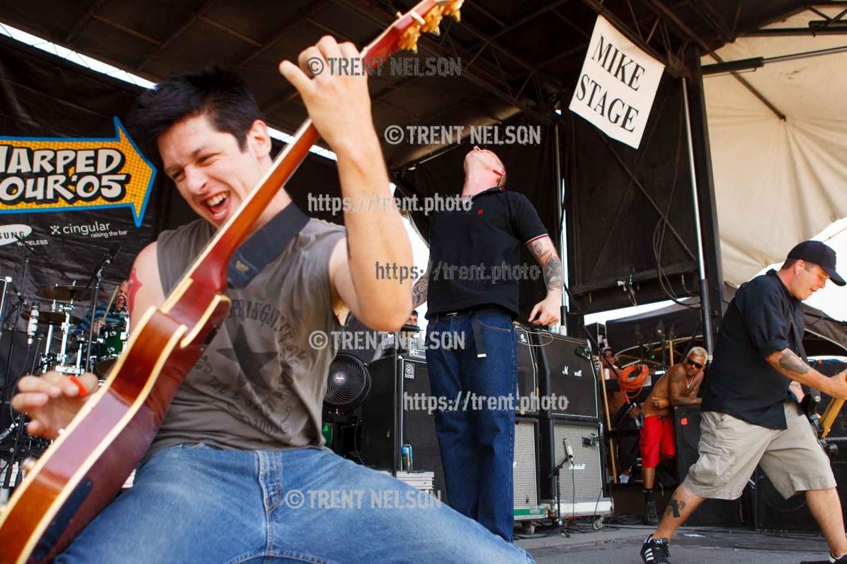 Dropkick Murphys, Vans Warped Tour, Fairgrounds; 7.16.2005