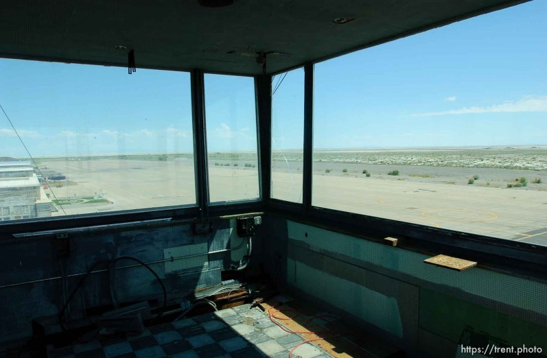 control tower, Wendover Airport.