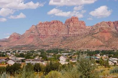Colorado City, Hildale with Vermillion Cliffs