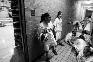 Whitehorse high school girls basketball vs. Grand.