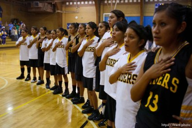 Whitehorse vs. San Juan high school girls basketball. 12.09.2005