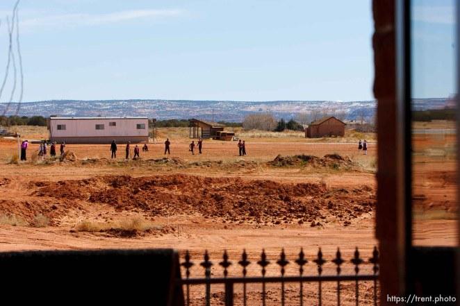 baseball game, Masada Charter School