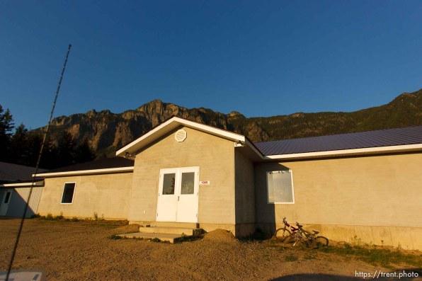 Polygamist Winston Blackmore in Bountiful, British Columbia. flds school