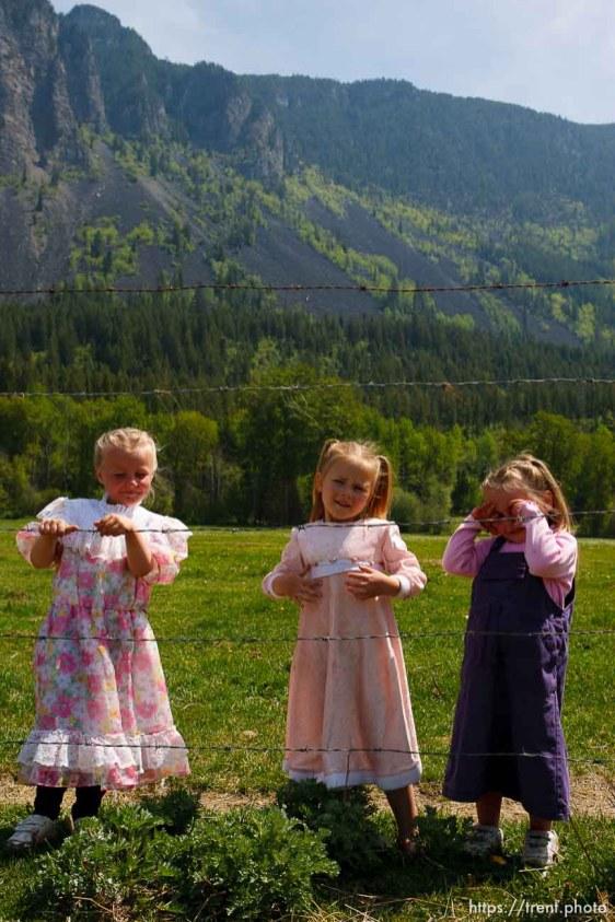 Polygamist Winston Blackmore in Bountiful, British Columbia. ; 5.16.2006