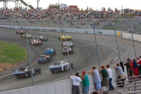 fans. Rocky Mountain Raceway.; 7.29.2006