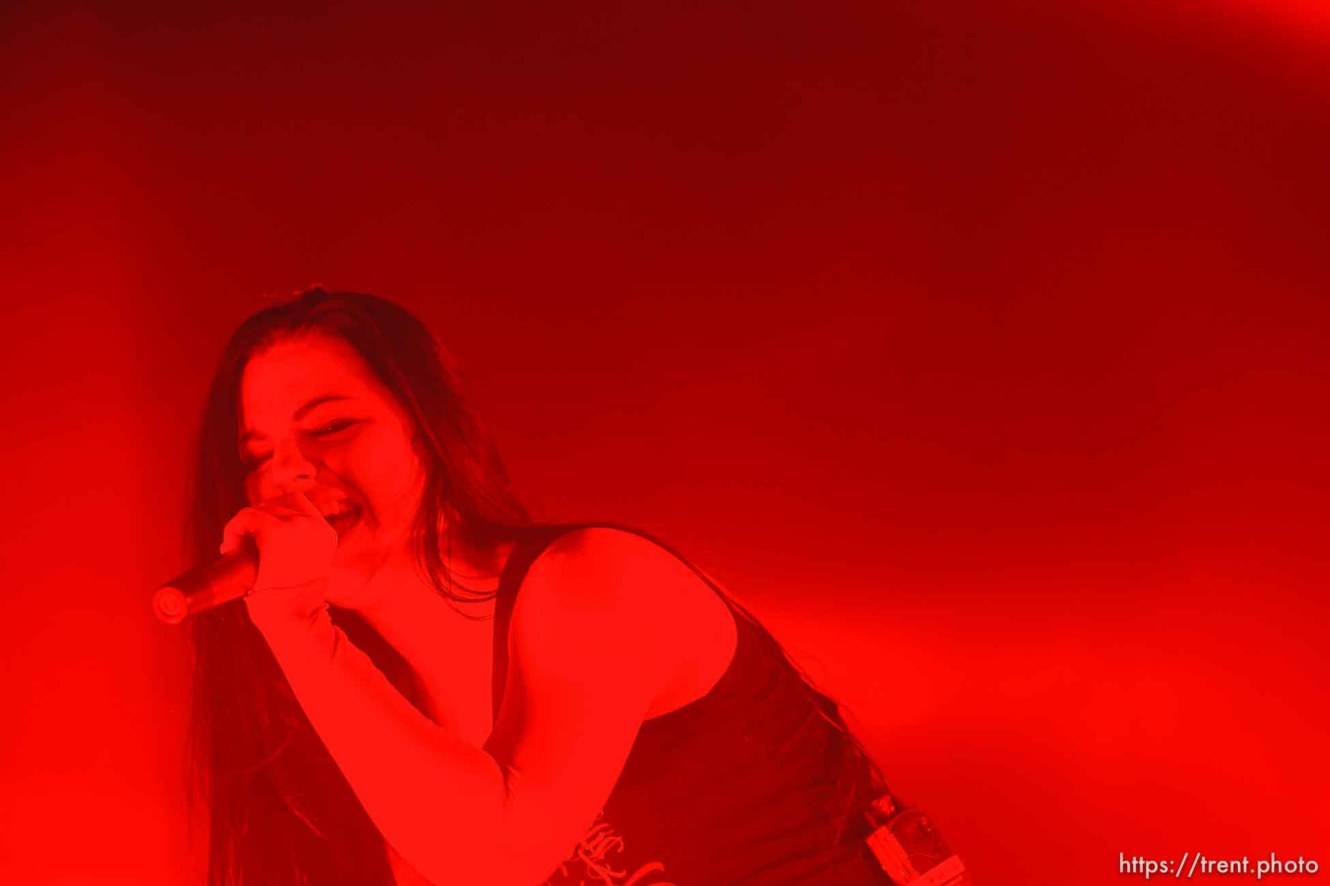 Salt Lake City - Amy Lee and Evanescence at Saltair.