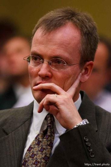 Washington County Attorney Brock Belnap. St. George - Preliminary hearing, Warren Jeffs trial, 5th District Court. 11.21.2006