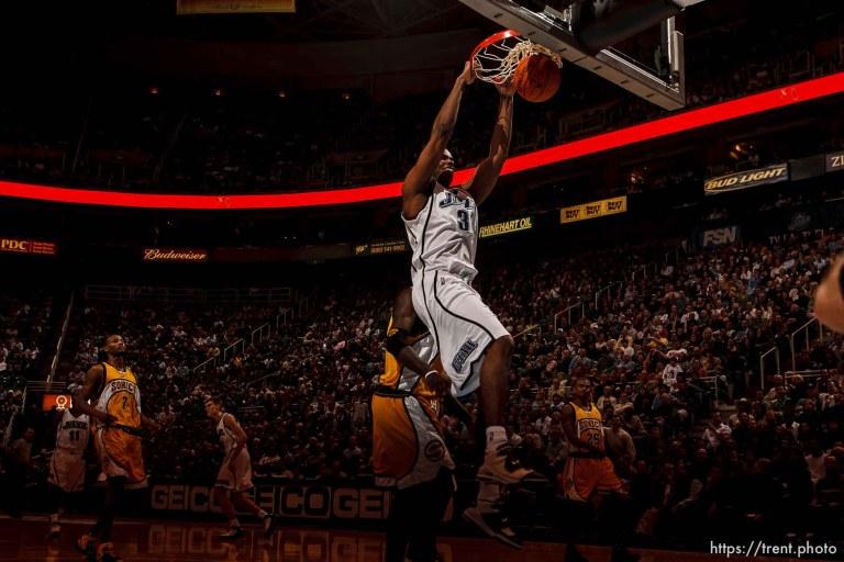 Utah Jazz v Seattle Sonics