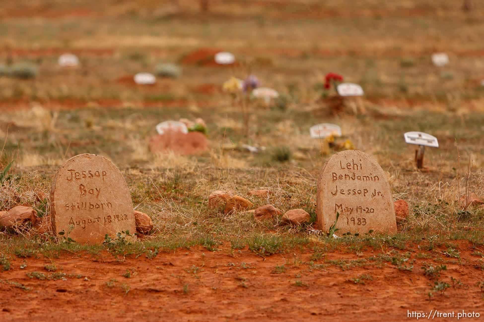 FLDS baby cemetery