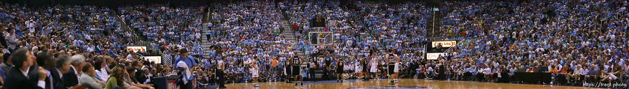 Salt Lake City - Utah Jazz vs. San Antonio Spurs, Western Conference Finals game four at EnergySolutions Arena. 5.28.2007