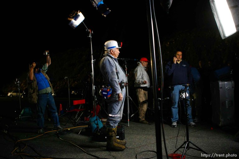 Crandall Canyon Mine Disaster – Bob Murray in miner's outfit