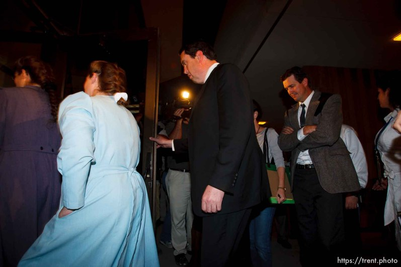 FLDS followers of Warren Jeffs. Nate Carlisle. Joseph Jeffs. St. George - Warren Jeffs trial. The polygamous sect leader was charged with two counts of rape as an accomplice stemming from a marriage he officiated involving a 14-year-old girl and her 19-year-old cousin.