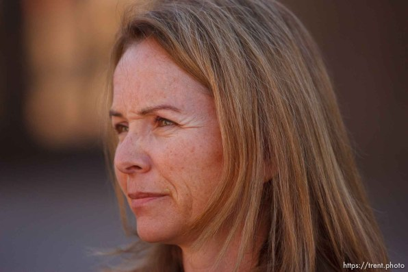 St. George - Warren Jeffs trial. The polygamous sect leader was charged with two counts of rape as an accomplice stemming from a marriage he officiated involving a 14-year-old girl and her 19-year-old cousin. spokesperson nancy volmer
