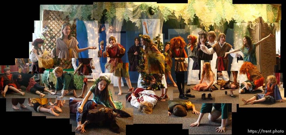 6th grade class play - shakespeare's a midsummer night's dream.