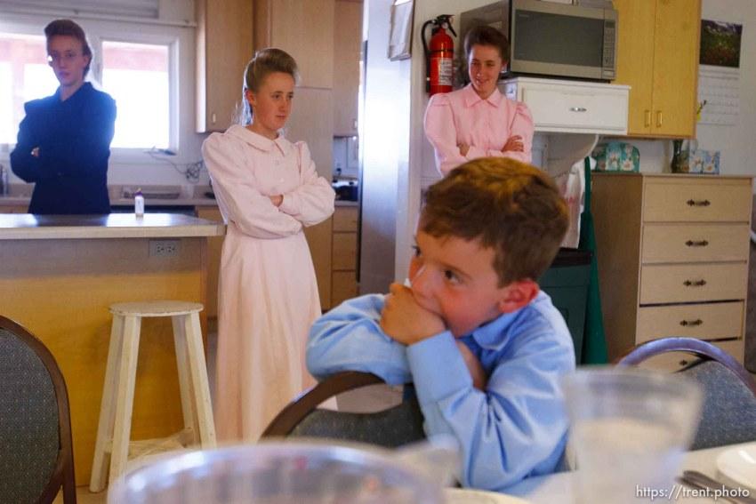 Westcliffe - . Monday, July 28, 2008. lunch prayer