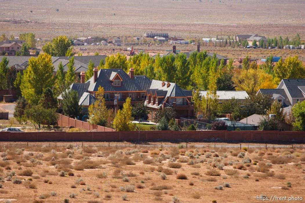 Centennial Park - The view of Centennial Park from Berry Knoll, Friday October 24, 2008.