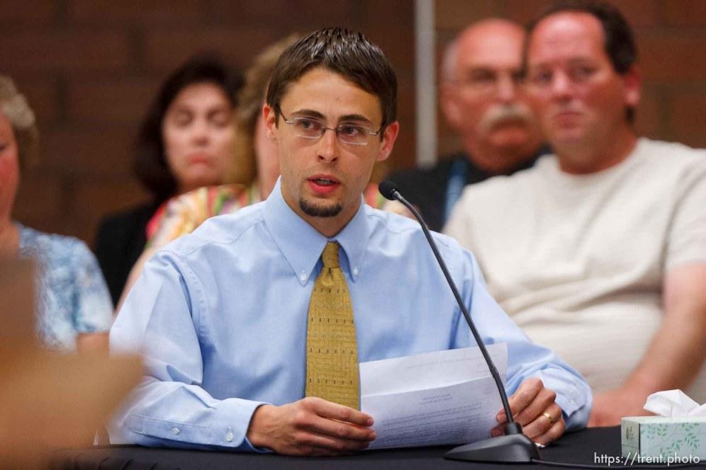 Trent Nelson | The Salt Lake Tribune Draper - Commutation hearing for death-row inmate Ronnie Lee Gardner Thursday, June 10, 2010, at the Utah State Prison. jason otterstrom