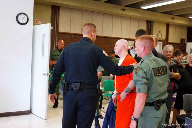 Trent Nelson | The Salt Lake Tribune Draper - Commutation hearing for death-row inmate Ronnie Lee Gardner Thursday, June 10, 2010, at the Utah State Prison.