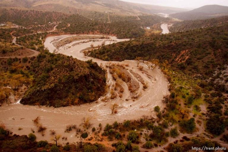 Flooding in Motoqua, DI Ranch