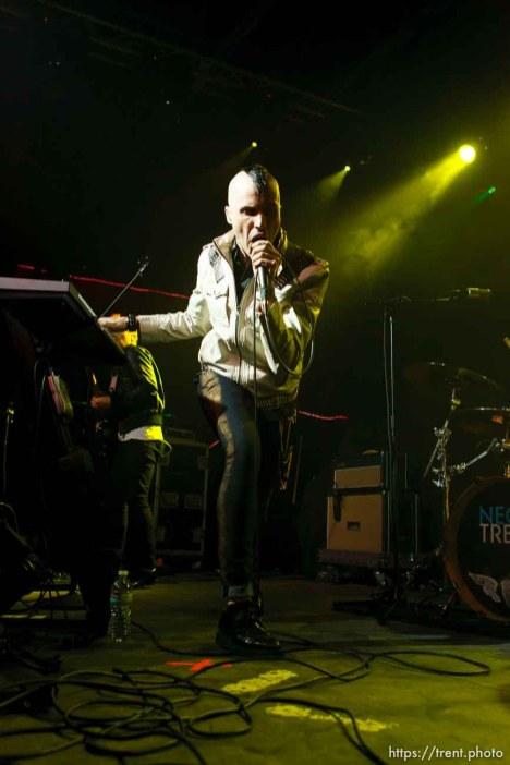 Tyler Glenn, Neon Trees at In The Venue in Salt Lake City, Utah, Friday, April 8, 2011.