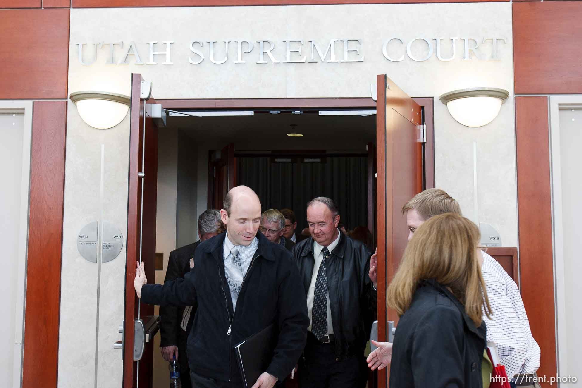 Trent Nelson | The Salt Lake Tribune The Utah Supreme Court heard arguments in Salt Lake City, Utah, Tuesday, April 12, 2011, involving the FLDS Church's United Effort Plan (UEP) land trust.