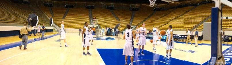 byu basketball photo day, in Provo, Utah, Wednesday, October 12, 2011. jeff allred