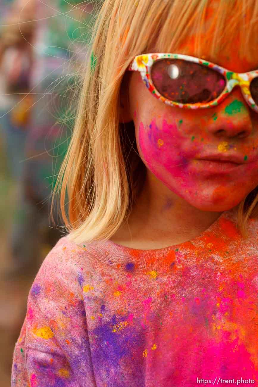 Holi Festival. Sunday, March 25, 2012 in Spanish Fork, Utah.