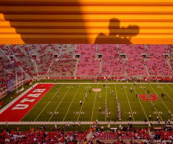 Trent Nelson   The Salt Lake Tribune as Utah hosts BYU college football in Salt Lake City, Utah, Saturday, September 15, 2012.