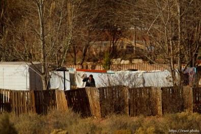 man working, Thursday November 29, 2012.